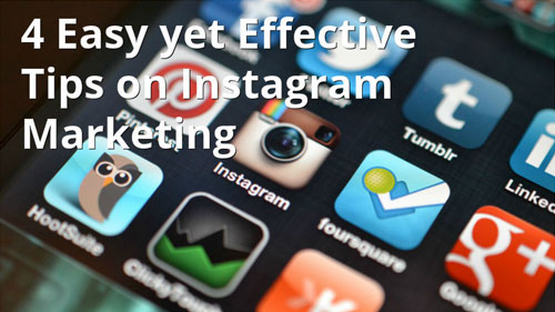 4 easy instagram