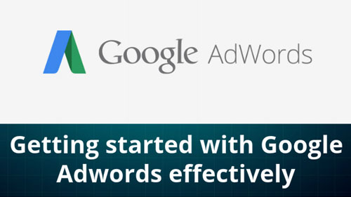 started google adwords